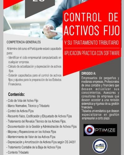 CONTROL DE ACTIVOS FIJO