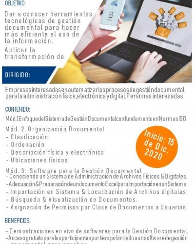 ADMINISTRACIÓN DE ARCHIVOS FÍSICOS, ELECTRÓNICOS Y DIGITALES